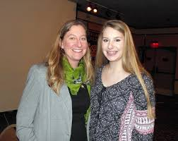 Abby Olson, with her mother, our Rotary Youth Exchange student going to  Switzerlan d later this year | Rotary Club of Juneau