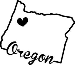 Amazon Com Jb Print State Of Oregon Script Vinyl Decal Sticker Car Waterproof Car Decal Bumper Sticker 5 Kitchen Dining
