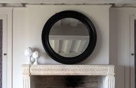 buckingham round wall mirror