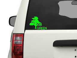 Go Green Sticker Environment Vinyl Decal Ebay