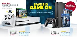 black friday features 250 consoles