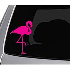 Amazon Com Seek Pink Flamingo Decal Car Truck Window Sticker Nature Outdoors Birds Automotive