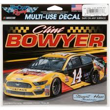 Wincraft Clint Bowyer 45 X 6 Multi Use Car Decal