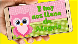 Buho Video Tarjeta Invitacion Digital Cumpleanos Whatsapp