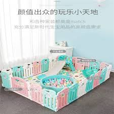 Baby Play Fence Child Safety Fence Home Crawling Toddler Baby Indoor Fence Playground Gates Doorways Aliexpress