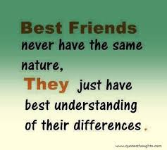 best friendship quotes thoughts nature understanding differences
