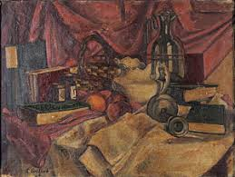 Haber's Art Reviews: A Still Life by Adolph Gottlieb and the Birth of  Abstract Expressionism