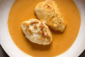 Fish Quenelles in Lobster Cream Sauce ...