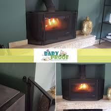 childproof your fireplace baby proof