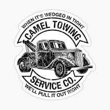 Towing Stickers Redbubble
