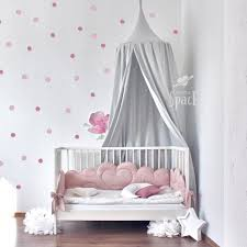 Cotton Bed Canopy For Kids Room Baldachin Crib Canopy Etsy