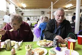 Casella brings Easter dinner to Open Door Mission | Local News ...
