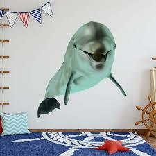 Dolphin Wall Decal Wayfair