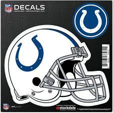 Indianapolis Colts Car Decals Decal Sets Colts Car Decal Shop Cbssports Com