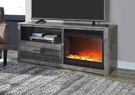 son multi gray tv stand w