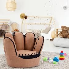 Shop Costway Kids Sofa Five Finger Armrest Chair Couch Children Living Room On Sale Overstock 15969307