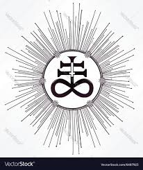 The Satanic Cross Also Known As The Leviathan Cross A Variation Of The Alchemical Symbol For Black Sulfur That Represent Satanic Cross Alchemic Symbols Satan