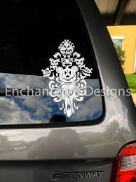 Haunted Mansion Car Decal Disney Halloween Laptop Vinyl Etsy