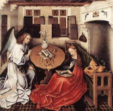 Image result for annunciation in art
