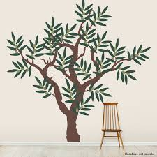 Olive Tree Wall Sticker Olive Tree Branch Wall Decal