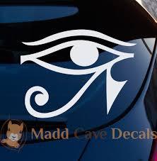 Eye Of Horus Decal Car Window Laptop Tumbler