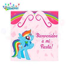 Invitacion My Little Pony Distrimemos