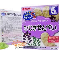 Bánh ăn dặm Pigeon vị rong biển 6 tháng+ – thegioihanghieuchobe