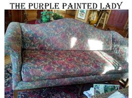 chalk paint on leather the purple