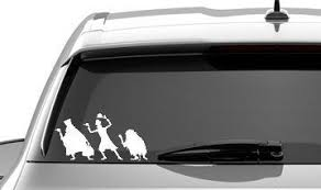Haunted Mansion Ghosts Disney World Car Window Laptop Tablet Vinyl Sticker Decal Choose Color