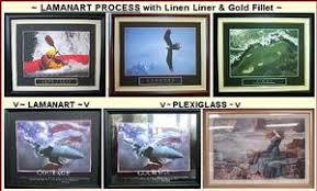 plexiglass and lamanart for framed