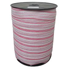 400m X 40mm Roll Polytape For Electric Fence Poly Tape Wire Suit Solar Energiser Jono Johno