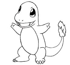 How To Draw Charmander Pokemon Drawings Pokemon Coloring Pages