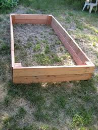 diy build your own garden box garden