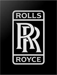 Rolls Royce Logo Vinyl Decal Car Window Laptop Sticker Kandy Vinyl Shop