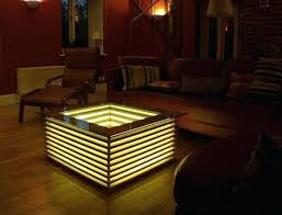 coffee table with lights mindfunnel co
