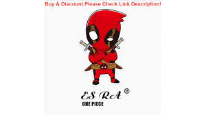 Deal Pvc Luggage Stickers Toys 3 9 2 3inch One Piece Deadpool Stickers Marvel Anime Decal Laptop Pi Youtube