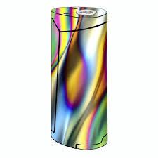 Skin Decal For Smok Priv V8 Vape Oil Slick Rainbow Opalescent Design Awesome Itsaskin Com