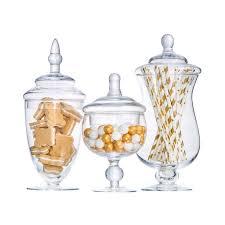 candy jar artificial blown glass bottle