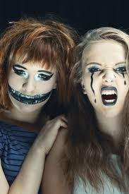 pretty and scary halloween makeup ideas