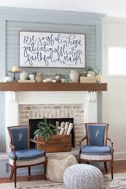 diy fall mantel decor ideas to inspire