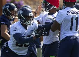 This means everything': Tight ends Jackson Harris, Wes Saxton chasing their  dreams with Seahawks   The Seattle Times