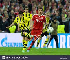 Il 2013 la finale di UEFA Champions League allo Stadio di Wembley tra FC Bayern  Monaco e Borussia Dortmund offre: Ilkay Gundogan,Mario Mandzukic dove:  Londra, Regno Unito quando: 25 Maggio 2013 Foto