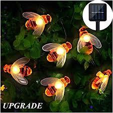 solar garden string lights outdoor