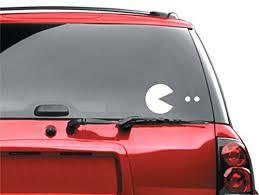 Pacman Car Window Vinyl Sticker Buy Online In El Salvador At Desertcart