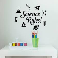 Science Classroom Wall Decals Vinyl Decor Wall Decal Customvinyldecor Com