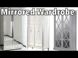 diy mirrored wardrobe super easy and