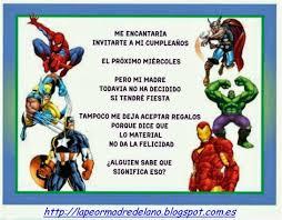 Super Heroes Marvel Invitaciones Cumpleanos Saferbrowser Yahoo