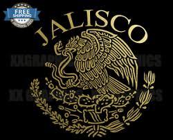Jalisco Decal Mexican Eagle Aguila De Mexico Flag Bandera Mexicano Ebay