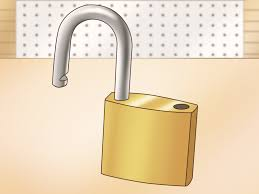 how to pick a master padlock with
