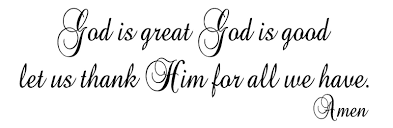 God Is Great God Is Good Vinyl Wall Art Words Decals Stickers Decor Religious Ebay